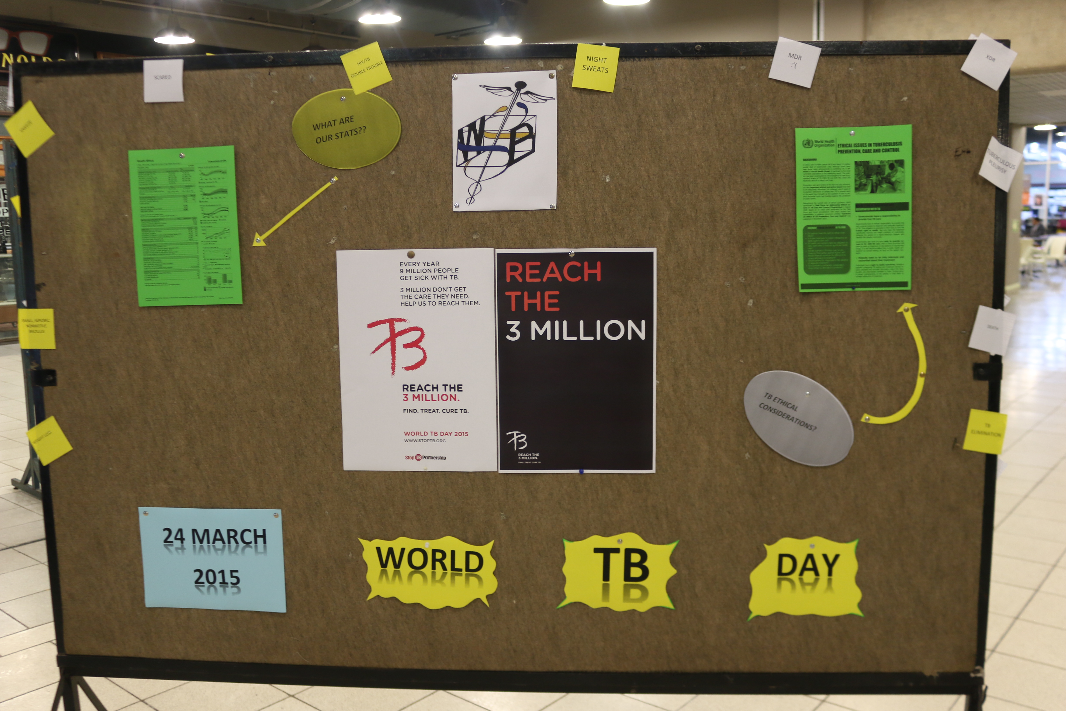Wits awareness on World TB day