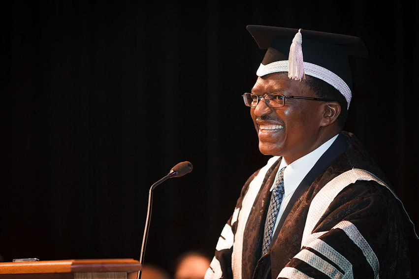 """New Rhodes vice-chancellor contributes salary to """"needy"""" students"""
