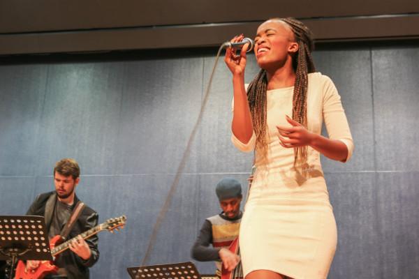WITS MUSIC & THEATRE: A free concert at the Great Hall took place in support of the victims of violence and abuse in South Africa. Photo: Michelle Gumede