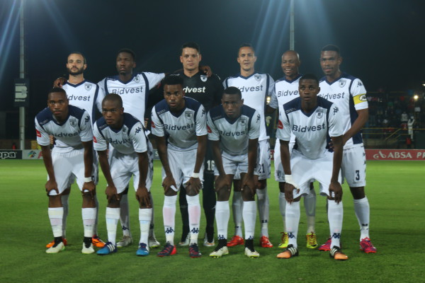 The Bidvest Wits side that slayed the Soweto Giants Orlando Pirates on Tuesday evening. Photo: Sinikiwe Mqadi