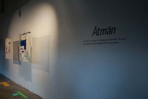 ATMAN:  Kalan's work  explorats the self as the subject of individual consciousness, the soul, and the supreme personal principle of life in the universe. Photo: Litaletu Zidepa
