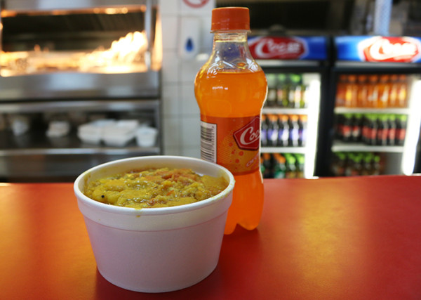 Biryani Tub and Cooee from Kara Nichas. Photo: Dana Da Silva