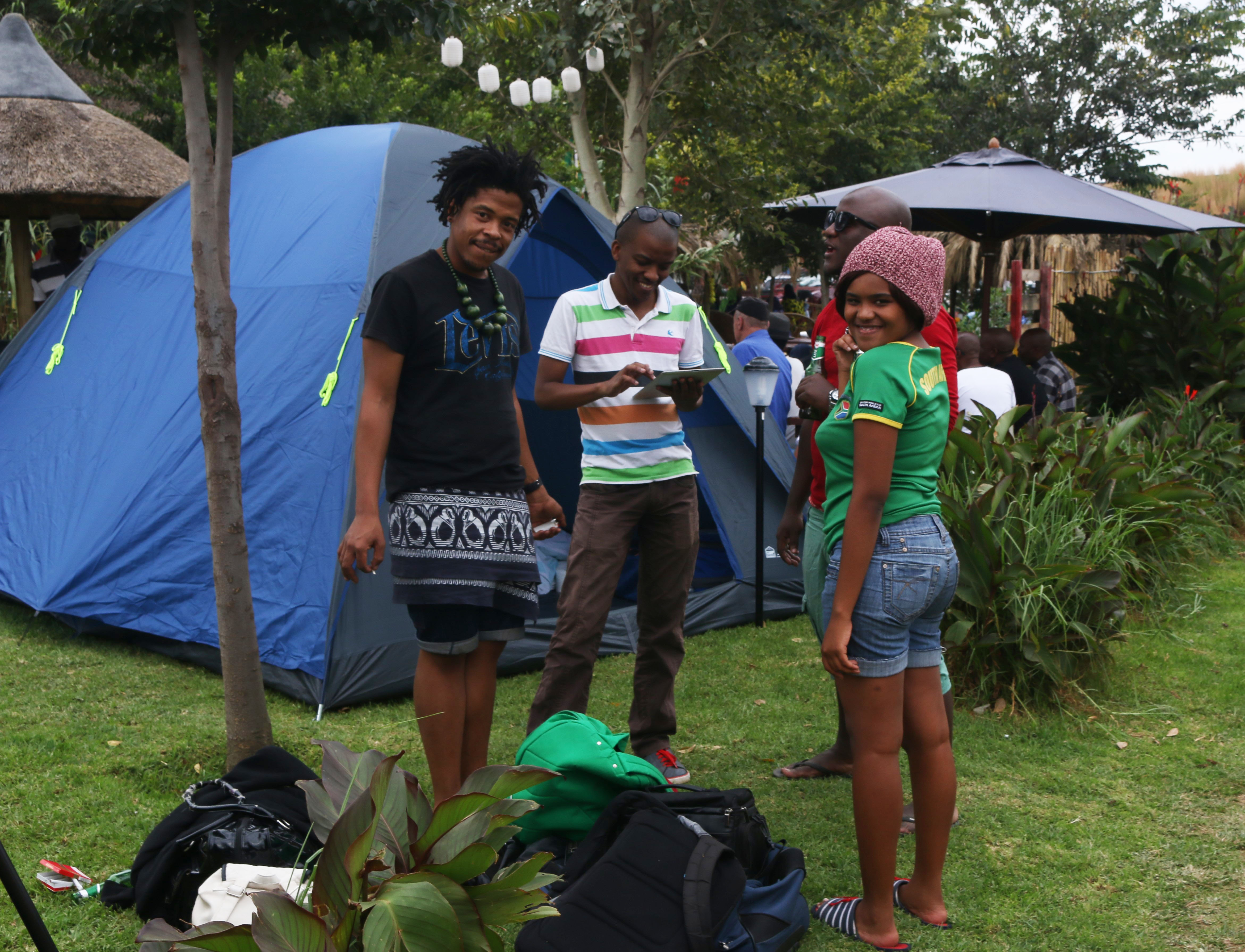 Lebo's Soweto Backpackers hosts Soweto camp fest 2015