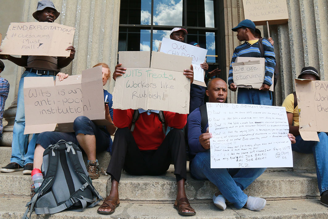 Wits seeks court order to remove protesters