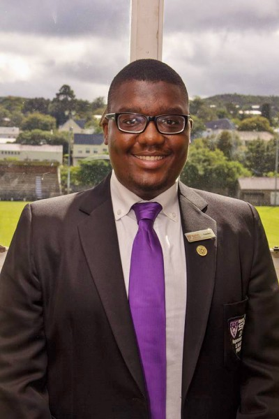 Rhodes Univeristy's SRC president, Siyanda Makhubo. Photo: Facebook.