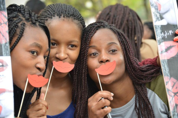 Witsies showed their support for the cause in April. Photo: Provided