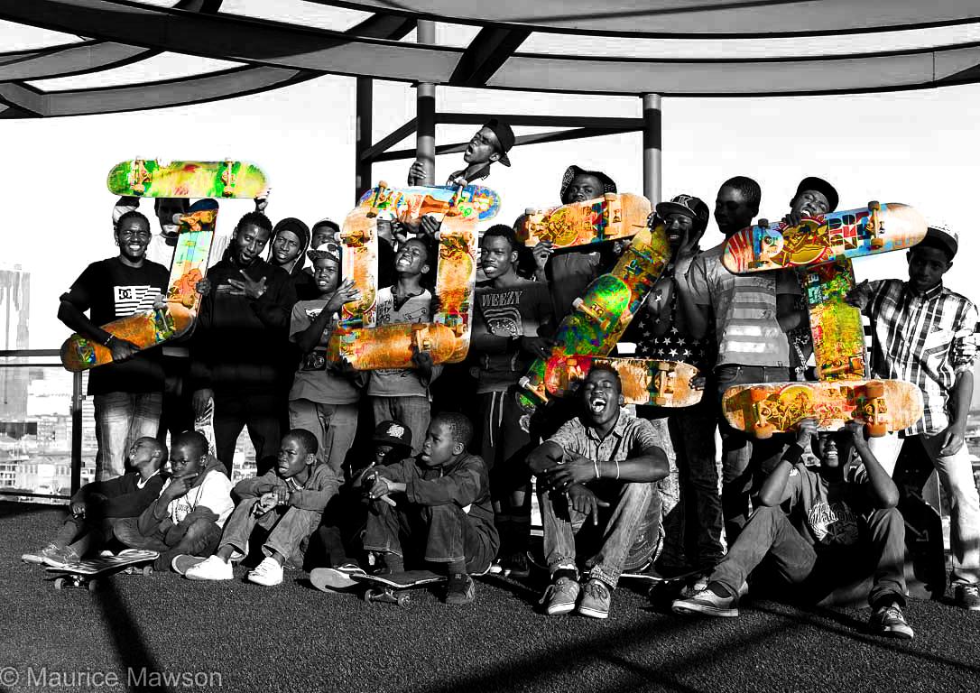 Jozi celebrates 'Go Skateboarding Day'