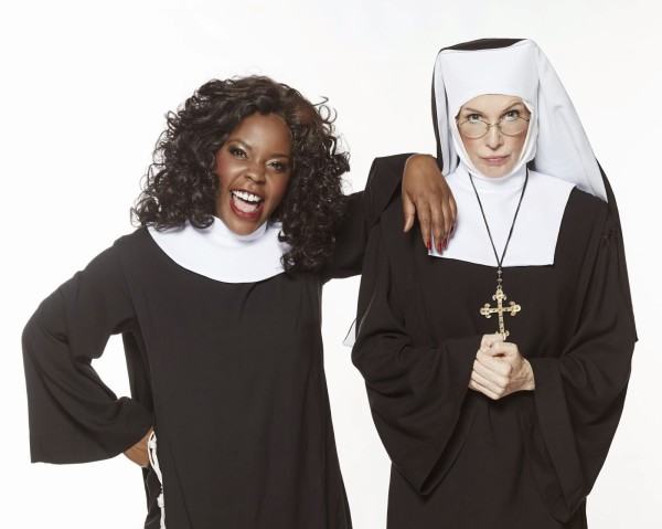 STAGE SISTERS: The Joburg Theatre's production of Sister Act stars Candida Mosoma and Kate Normington. Photo: Provided