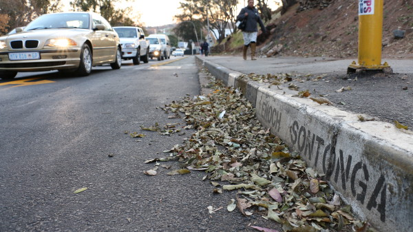 DANGER DRIVE: The recent increase in criminal activities on Enoch Sontonga Avenue has prompted Wits University to up the level of security on the busy road. Enoch Sontonga Avenue runs along the Strurrock Park sports precinct, parallel to the Enoch Sontonga memorial park.  Photo: Rafieka Williams