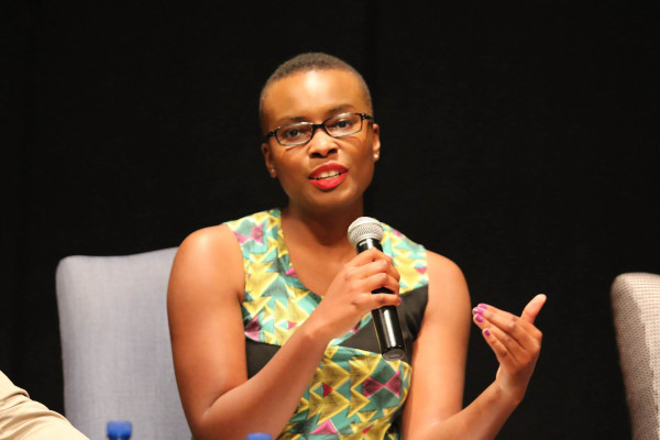 NARRATIVES OF A YOUNG BLACK WOMAN: Editor and founder of Vanguard Magazine and Ruth First Fellow, Panashe  is shaping the African women's narrative one step at a time. This Zimbabwean born recently explored   the concept of 'Coconuts, Consciousness & Cecil John Rhodes'. Photo: Reuven Blignault