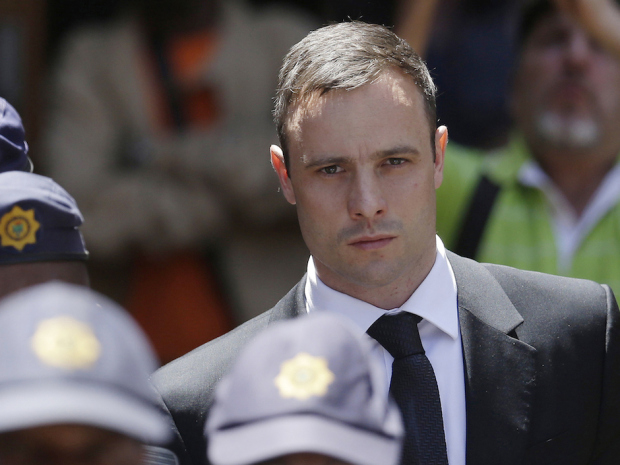 Oscar Pistorius. Photo: Themba Hadebe