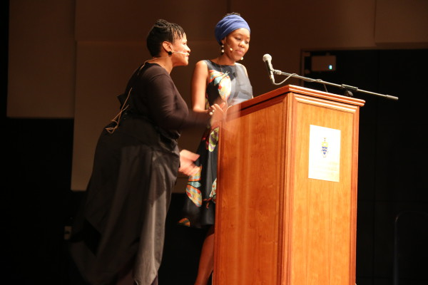 Sisionke Msimang spoke at the Ruth First memorial lecture presenting her research on interracial friendships along side Lebo Mashile. Mashile  performed different excerpts  taken from the research paper on racialized events.
