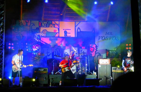 Tweak playing on the main stage at Oppi Koppi. Photo: Valerie Robinson