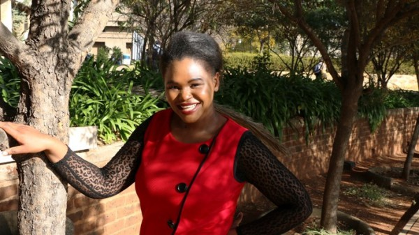 COOL KID: Thando Gumede, a final year law student is not only interested in Law but in the advancement of black girl children through education. Photo: Katleho Sekhotho