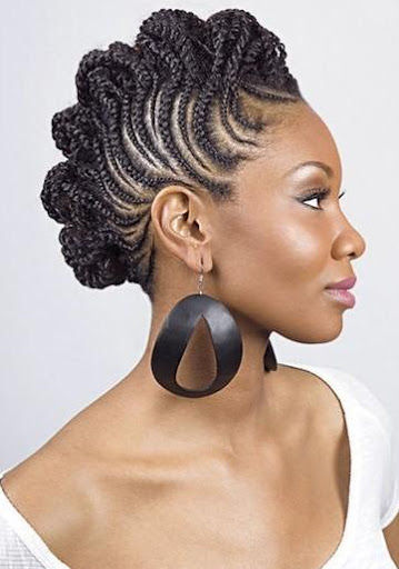 CRAZY CORNROWS: Variations with this hairstyle are limitless. Photo: Provided