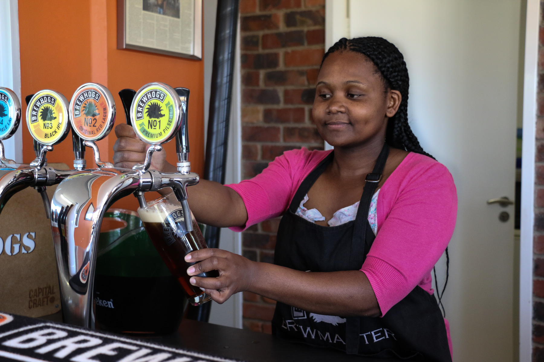 Kyalami's female brewmaster