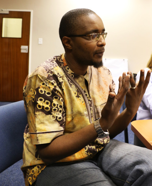 CRITICAL THINKER: PhD Constitutional Law student Sanele Sibanda highlighted that we are living in a confounding time in South Africa, especially as black people. Photo: Sibongile Machika