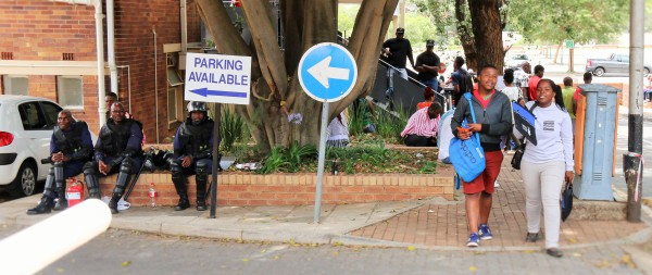 HIGH COST OF SECURITY: Wits University has been paying an average of R2 million per month for private security. Photo: Michelle Gumede
