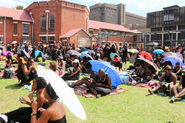 ALL BLACK EVERYTHING: Hundreds of black women met to discuss issues of colourism, classism and racism. Photo: Michelle Gumede