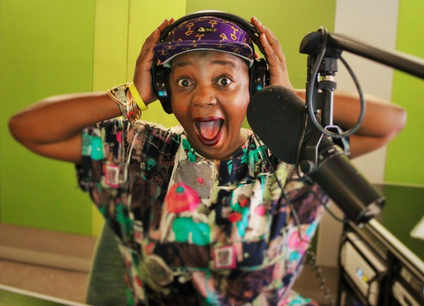 GHETTO SNOB OF THE AIRWAVES: Swaggered up in DMD, Sista Ntswembu is a colourful and quirky character who has her listeners in stitches from laughter. Photo: Michelle Gumede