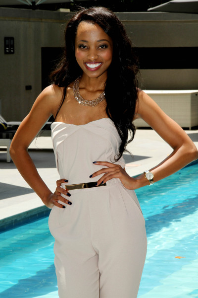 The radiant , a Wits graduand and top 12 Miss SA finalist.