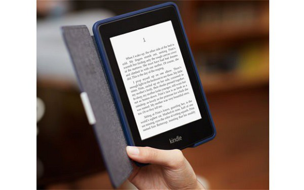 ONLINE READING: Ebooks are becoming a popular way of reading because of their convenience. Photo: Telegraph.co.uk