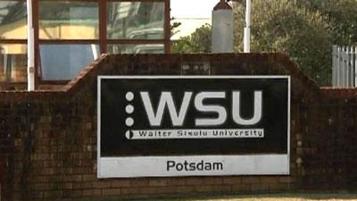 No classes at Walter Sisulu University