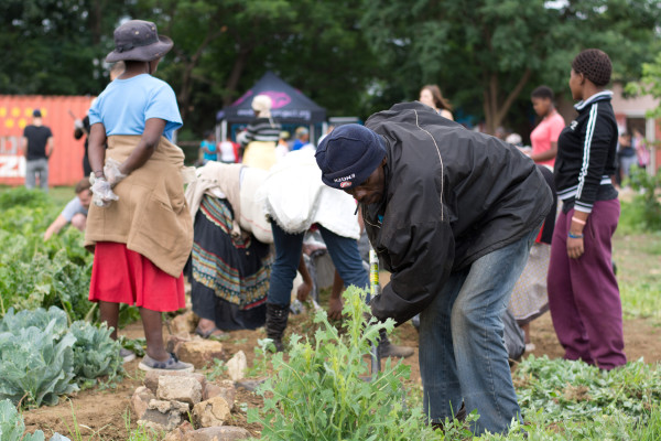 PLANTING SEEDS: Gem provides unemployed people in impoverished communities for engaging in social action. PHOTO: Provided