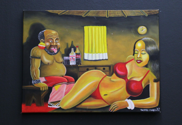 Sexual Narratives: Themba Siwela's Temptations on Madlala's pension day fictionally depicts social commentary about black South African sex. Photo: Hazel Kimani