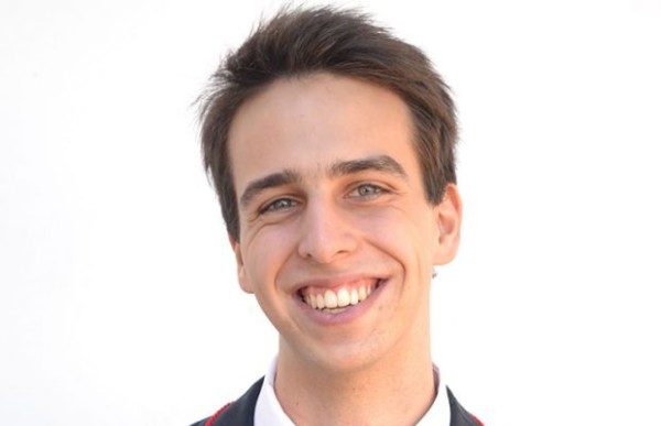 SETTING RECORDS: Dario Trinchero achieved 100% for International Cambridge AS level examination