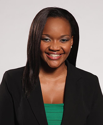 BROADCASTING LIFE: Cathy Mohlahlana, FORMER VOICE of Wits (VOW) reporter, advancing to now become an eNCA news anchor.