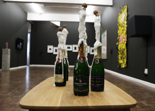 """Popped: Mitchell Gilbert Messina's piece Popped references the """"jubilant moment of ejaculation. Photo: Hazel Kimani"""