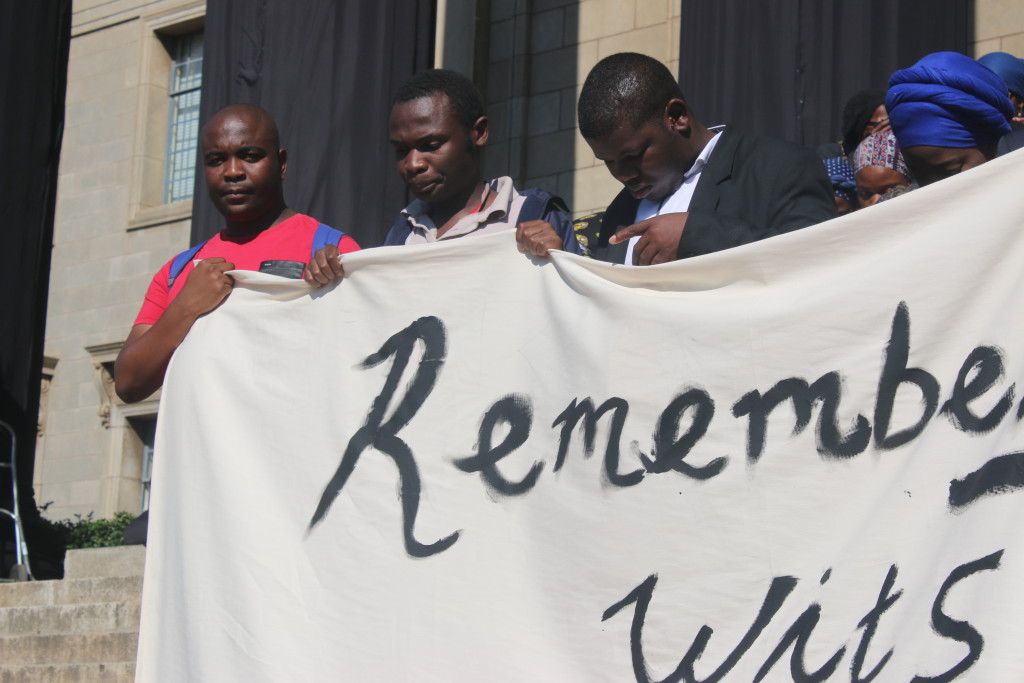 GONE TOO SOON: Members of the ZCC come out to mourn their fallen friends