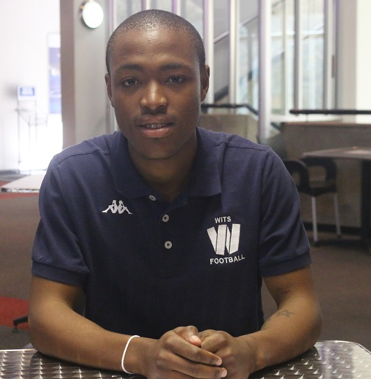 WITS FOR NOW: Hlehle cant join Chiefs yet, but its the prize hes set his eyes on. Photo: Wendy Mothata