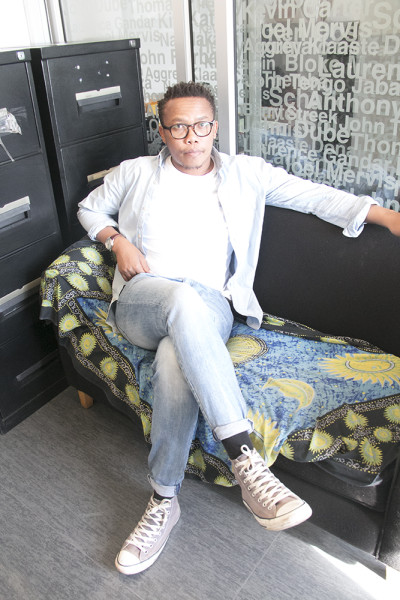 MAN OF THE MOMENT:Lwandile Fikeni is sitting among the giants of his time