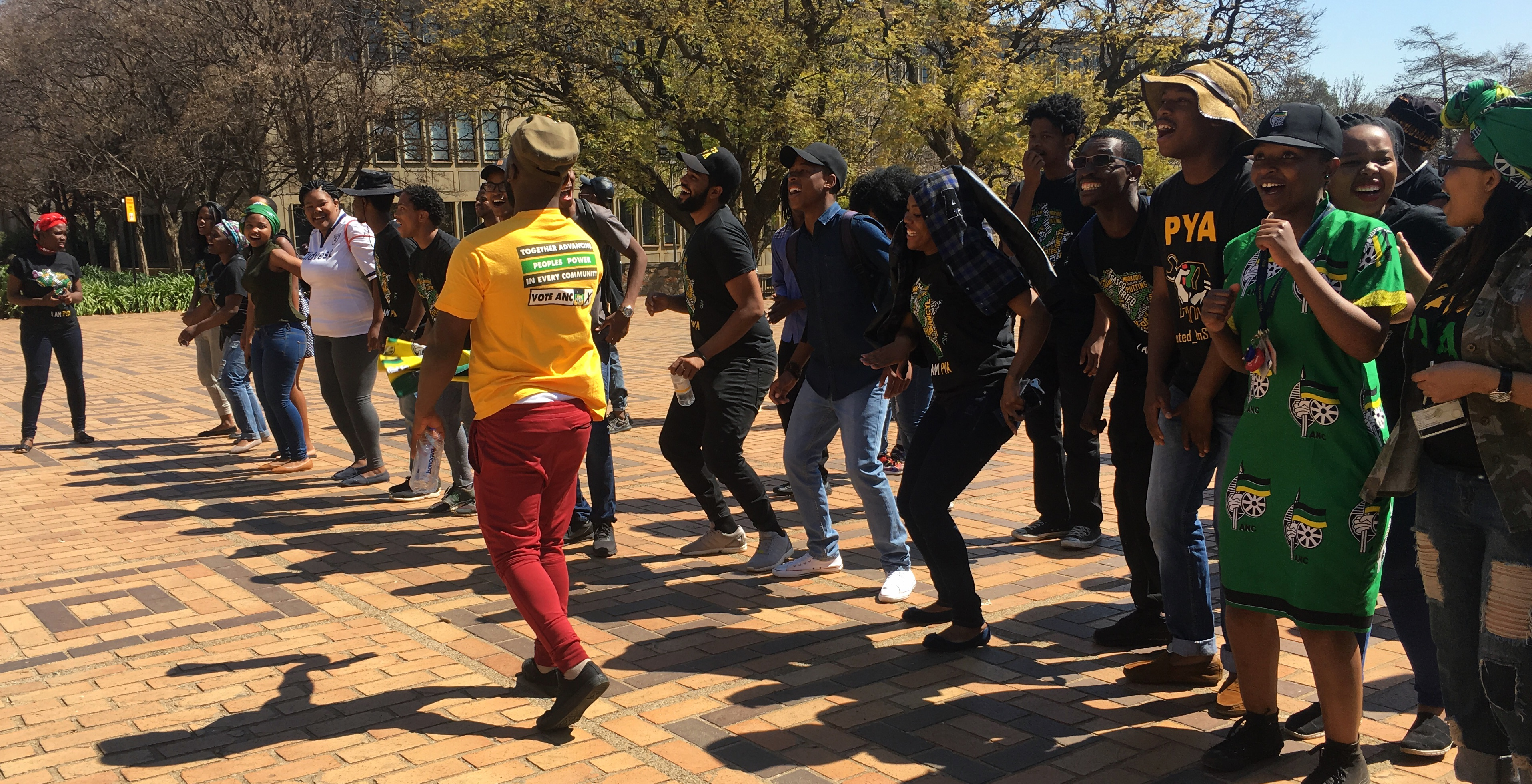 Clean sweep for PYA in Wits SRC elections