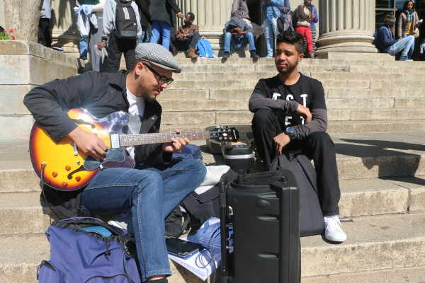 COOLKIDS: Anwyll and Antonio sure know how to make it a good day on campus