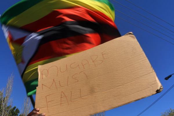 IN SOLIDARITY: People across the world have shown their solidarity with the #ThisFlag movement after activists and civilians started opposing the current government and rule through non-violent protests. Photo: Nasya Smith