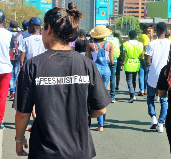 FEE-FREE: Students propose funding model  Photo: Nokuthula Zwane