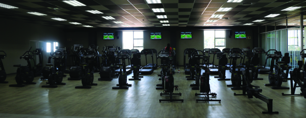 FEEL IT: The new Wits gym is finally here.