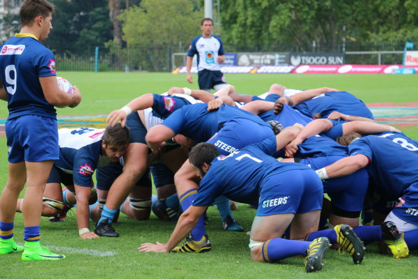 VICTORY: FNB Wits gave FNB CUT a run for thier money during the varisty Cup gme by 43-3 at the Wits Rugby Stadium. Photo: Nokuthula Zwane