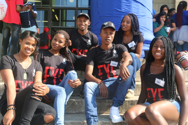 Peer Buddies: Wits FYE ambassadors ready to mentor first year students .  Photo: Aarti Bhana