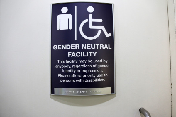 Neutral Point : An example of the new signs on campus Photo: Gypseenia Lion