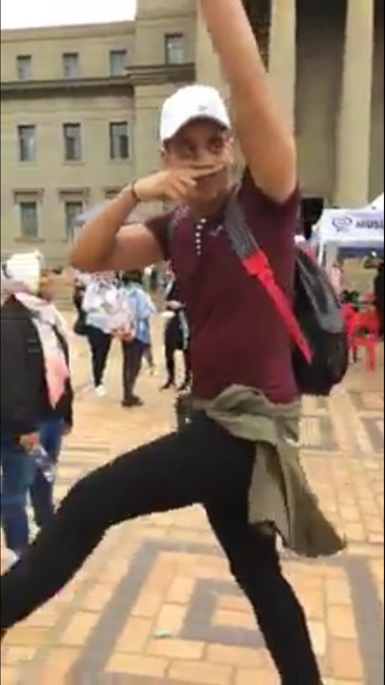 Nazi goose-step marcher faces disciplinary action