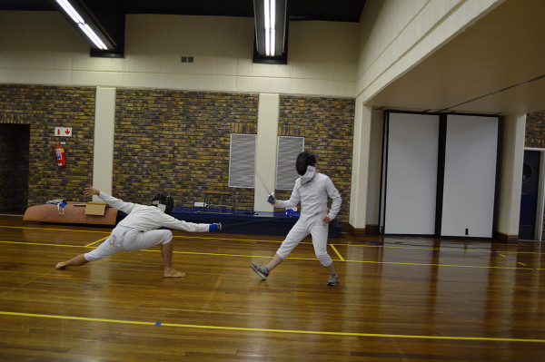 EN GARDE: Wits Fencing Club prepares to keep momentum after a successful year in 2016 Photo: Chulumanco Mahamb