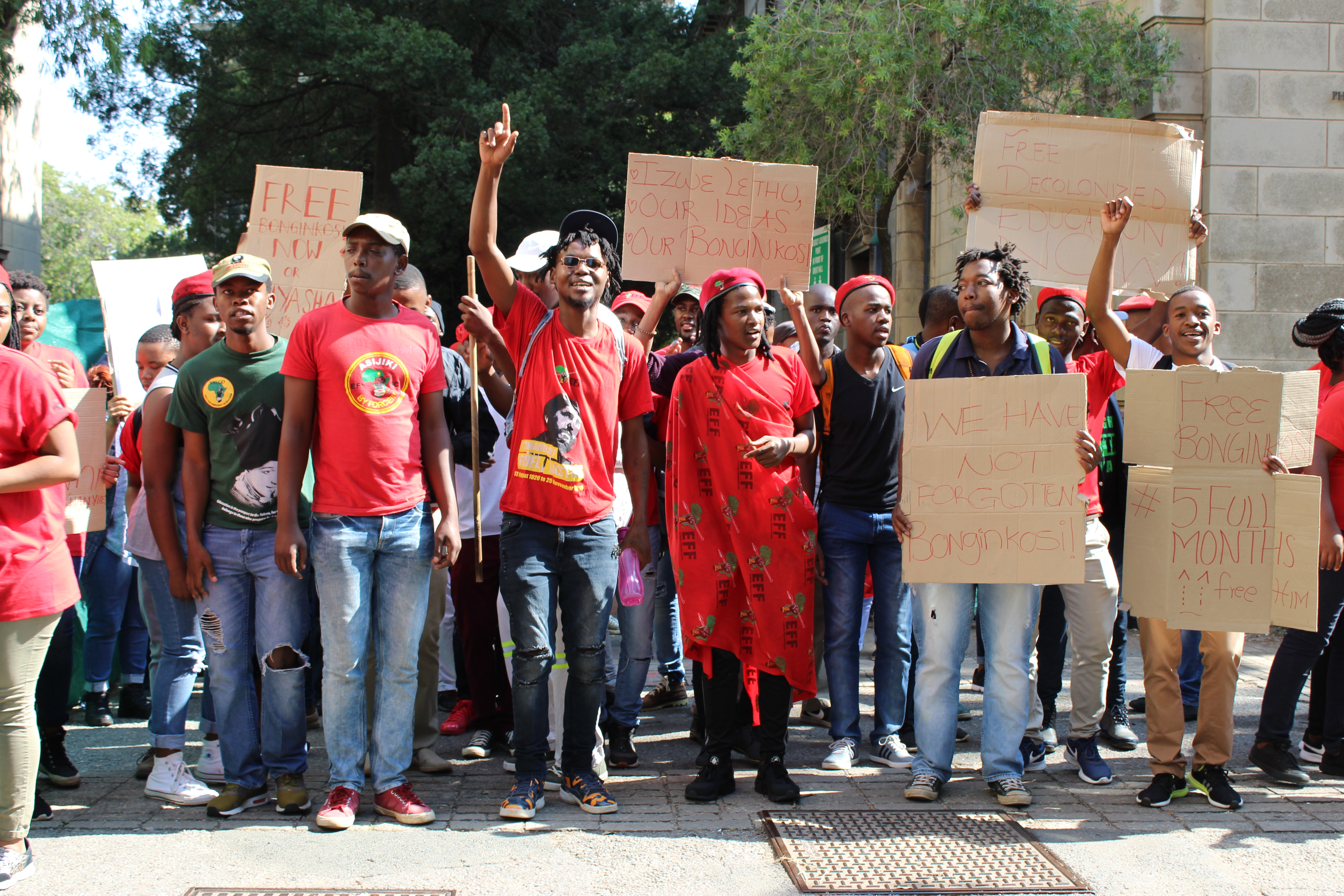 FeesMustFall student finally free