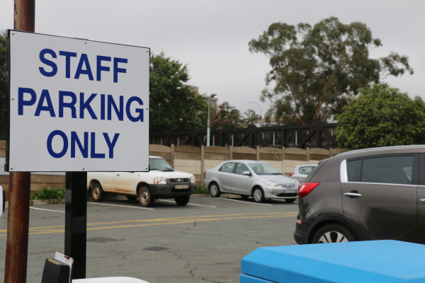 STRANDED: The reallocation of parking lots often leaves students frustrated.                                                                                      Photo: Aarti Bhana