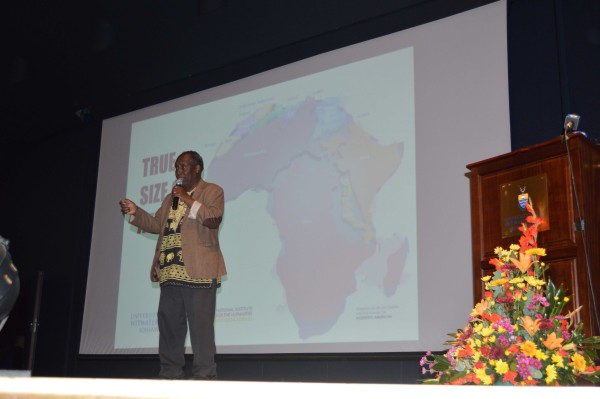 Ngũgĩ Wa Thiong'o Discusses decolonizing the Mind at Wits University
