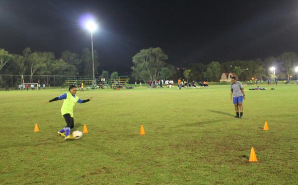 Modiko provides fast-paced, intense coaching.