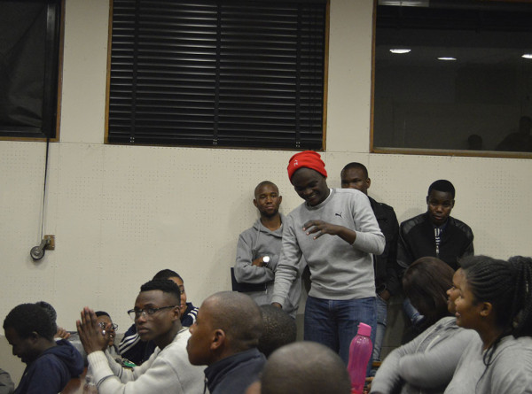 Attendants engaging in the discussion in John Moffat Photo: Nomvelo Chalumbira